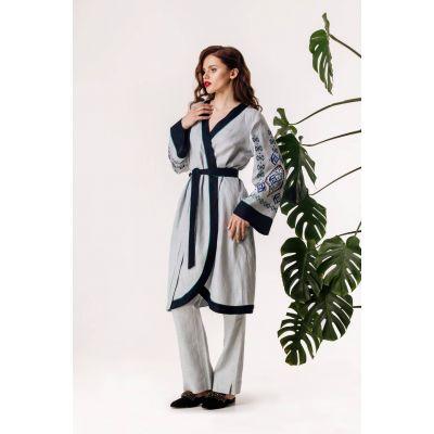 Платье вышиванка Подснежник
