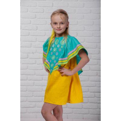 Платье вышиванка Солнечный одуванчик