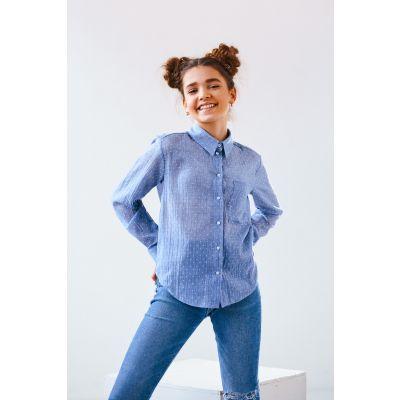 Блуза Итака 4872 джинс