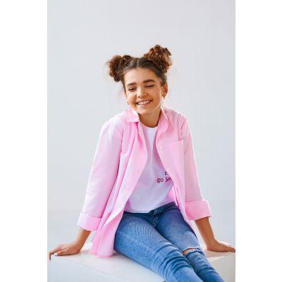Блуза Белона 4871 розовая