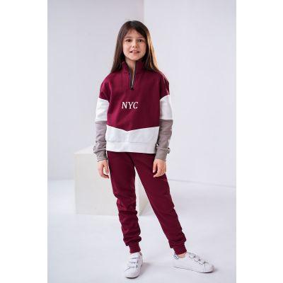 Спортивные штаны Тария 4456 сливовые