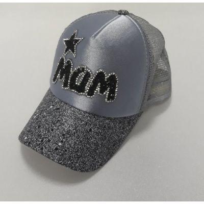 Блайзер серебро сетка MAM