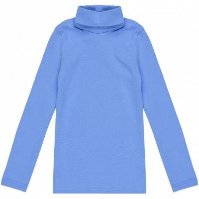 Гольф для девочки светло-синий 114652 отворот
