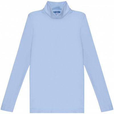 Гольф для девочки голубой отворот 114652/114653