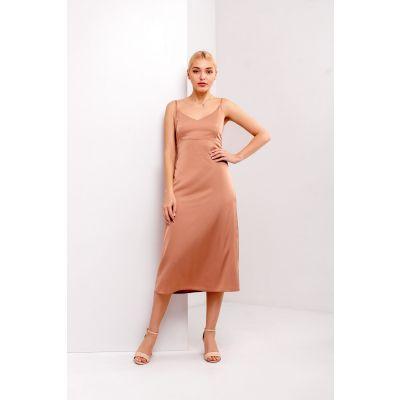Платье Турига 5377 карамельное