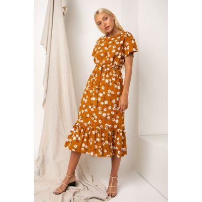 Платье Палисота 5315 корица