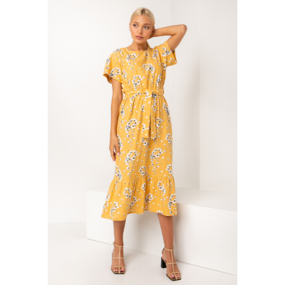 Платье Палисота 5318 желтое