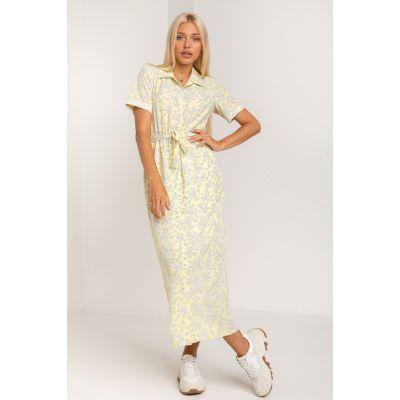 Платье Умбрия 5379 лимонное