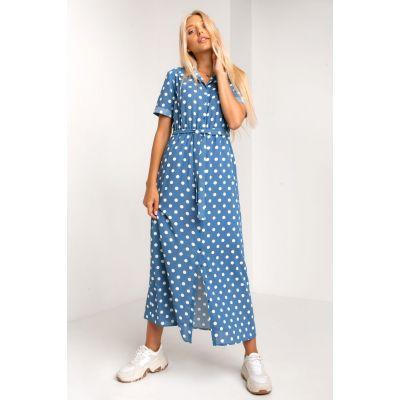 Платье Умбрия 5381 джинс