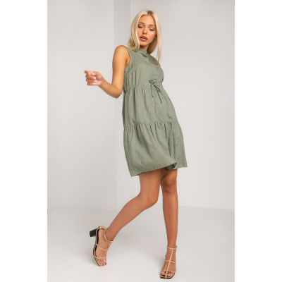 Платье Фратели 5351 оливковое