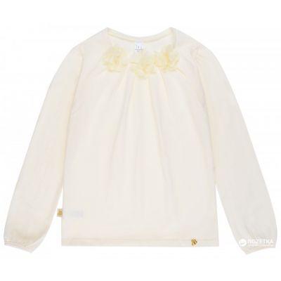 Блуза  для девочки 114421 / 114422 молочная