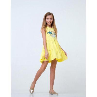 Сарафан 120250 желтый