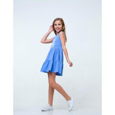 Сарафан 120250 голубой