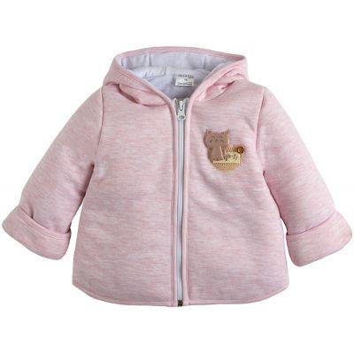 Курточка демисезонная утеплённая для девочки 105561-02-32 розовый меланж