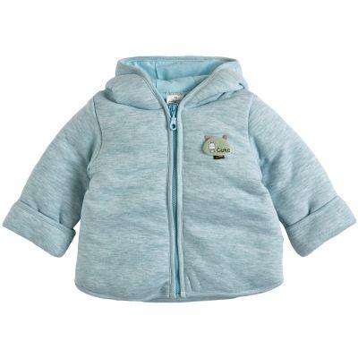 Курточка демисезонная утепленная 105561-02-32 ментол меланж