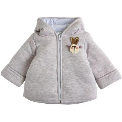 Курточка демисезонная утеплённая 105561-02-32 бежевый меланж