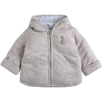 Курточка демисезонная утеплённая 105561-02-32-01 бежевый меланж