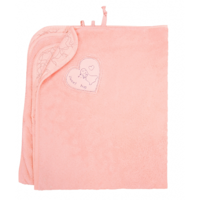 Покрывало теплое 119717 розовое