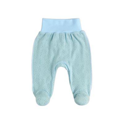 Ползунки штанишки 14150-88 голубой ажур