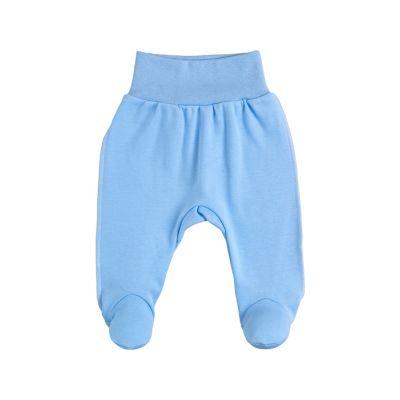 Ползунки-штанишки 14152-02 голубой интерлок