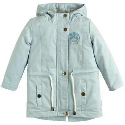 Куртка демисезонная для девочки 105560-40 голубая