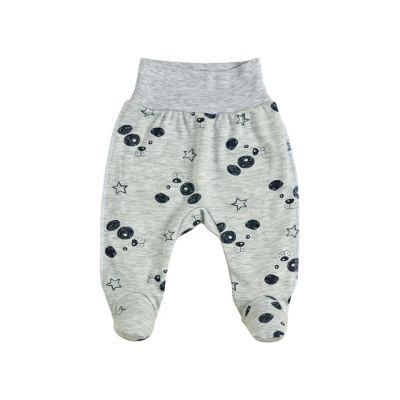 Ползунки для малыша 14147-02 серый интерлок