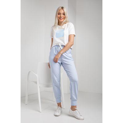Спортивные штаны Сотус 5026 голубые