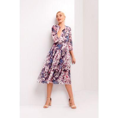 Платье Гамма 4981 бирюзовое