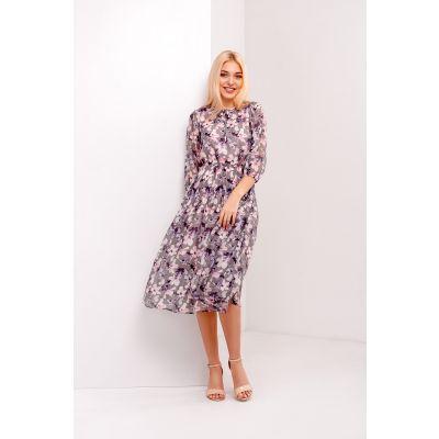 Платье Гамма 4983 графитовое
