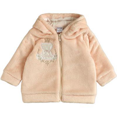 Куртка демисезонная для девочки 105574-25 кремовая