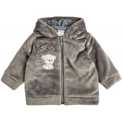 Куртка демисезонная утеплённая 105567-25 серая