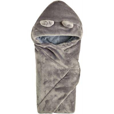 Одеяло конвертс капюшоном 106110 серый