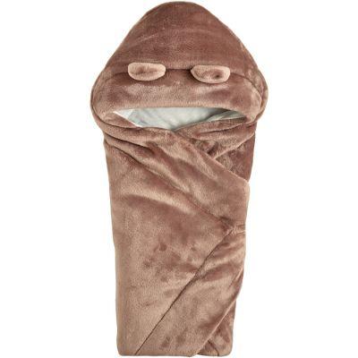 Одеяло конверт с капюшоном 106110-25 лиловый