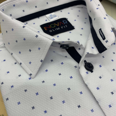 Рубашка школьная для мальчика 12-51-14(4/BZ-01) белая