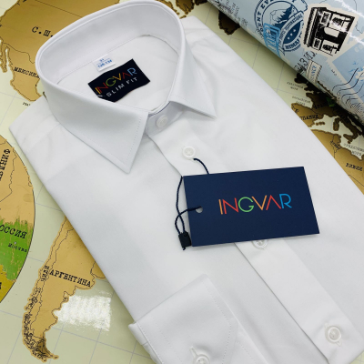Рубашка школьная для мальчика 12-51-19(616) белая