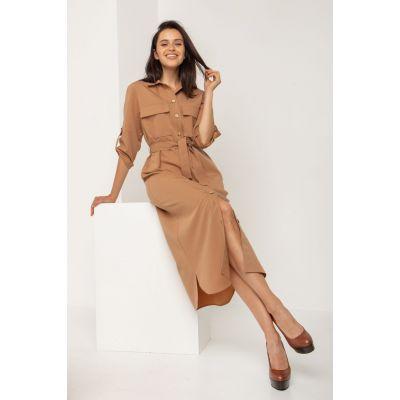 Платье Апарит 5572 светло карамельньное
