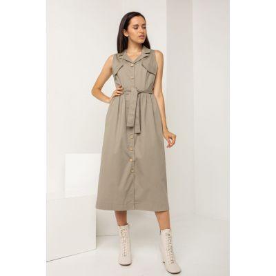 Платье Антарес 5489 светлый графит