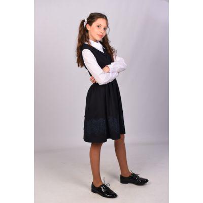 Сарафан школьный 35 черный