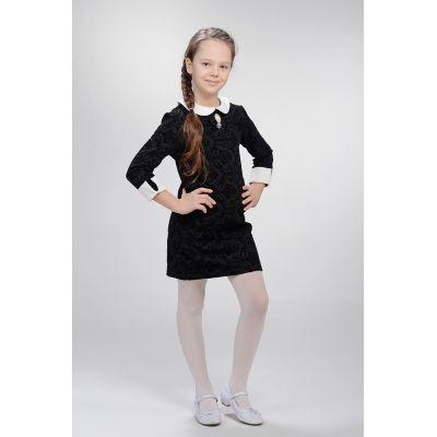 Платье школьное 25 черное