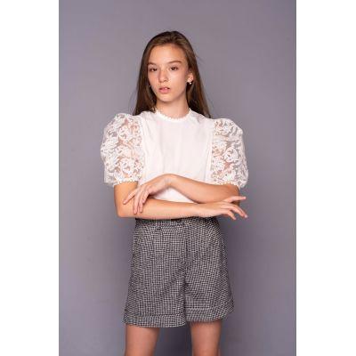 Блуза для девочки Кристи короткий рукав