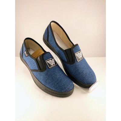 Туфли текстильные Джинс Виктор3