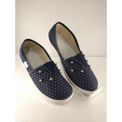 Туфли текстильные Эспадрильи