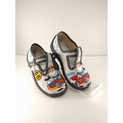 Туфли текстильные Носорог 360-117