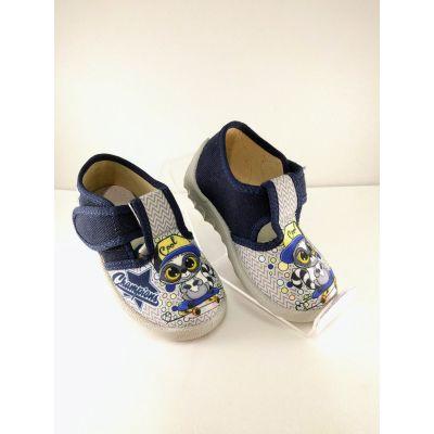 Туфли текстильные Рома кот