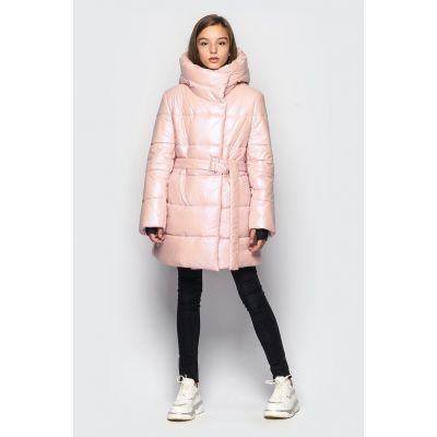 Куртка демисезонная для девочки Кэти розовая
