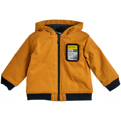 Куртка для мальчика 105577-40/26 горчичная