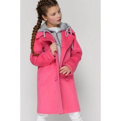Пальто DT-8311-9 малиновое