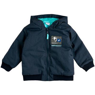 Куртка демисезонная для мальчика 105582-40-26 темно-синяя