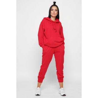 Спортивный костюм KM-2151-14 красный