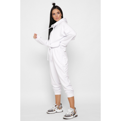 Спортивный костюм KM-2156-3 белый